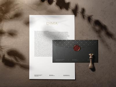 DIMA JEWELLERY jewellery store jewellery logo jewellery logo branding branding design