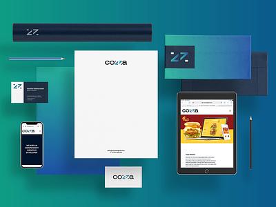 cozza digital / branding mobile apps development logo digetal website web design digital design brand identity web digital branding