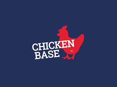CHICKEN BASE design logo restaurant chicken logo brand identity branding design