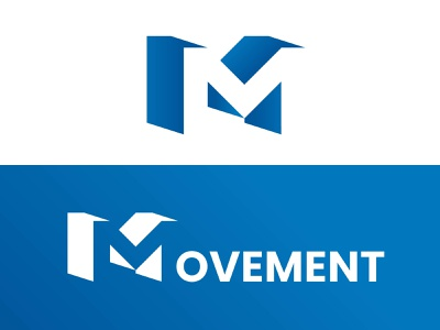 MOVEMENT LOGO letter m logo movement branding designerlogo design logodesign logo