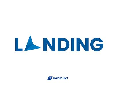 LANDING LOGO logo designer landing logo logo design logo