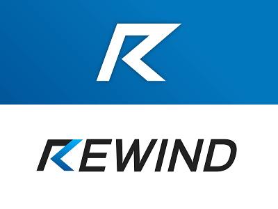Rewind logo rewind logo branding design logo design designerlogo logodesign logo