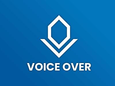 Voice over logo voice over voice logo logo mark design logo design logo