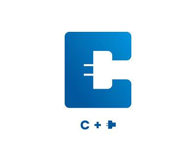 Charger Logo Design charger plug design icon design logo mark branding logo design logo