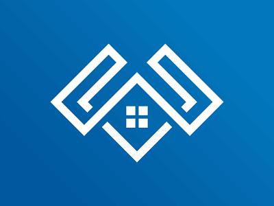 W + House Logo Design house design house logo property logo logo designer branding logo mark design logo design logo