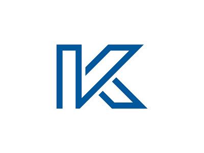 """Letter """"K"""" Logo Design lettermark icon design designer logo branding logo design design logo"""