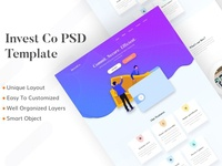 Invest Co. Landing Page