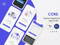 Doctor Appointment Mobile UI Kit