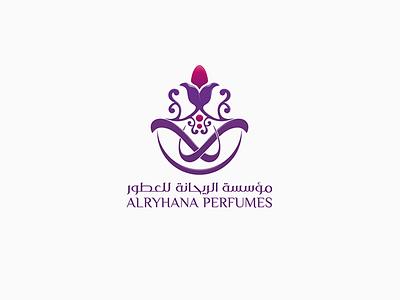alryhana perfume 2 perfume brand arbic logo