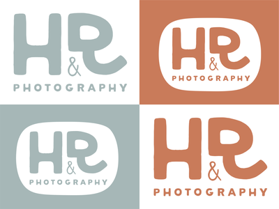 H&R Photography logo design logodesign photography logo branding logo
