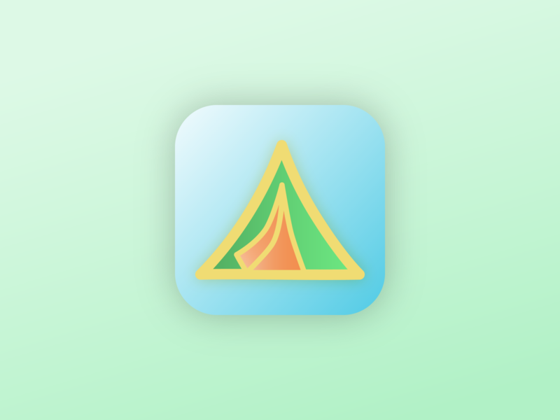 Daily UI Day 5 - App Icon adobe illustrator logo illustration ui daily ui 005 daily ui