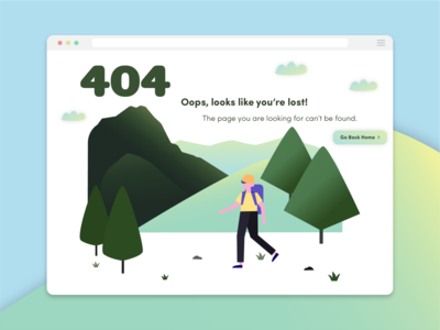 Daily UI Day 8 - 404 Page daily ui design illustration adobe illustrator 404 page daily ui 008 daily ui challenge dailyui