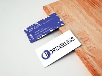 Borderless Business Card