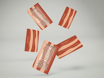 Pocket Bacon Business Card