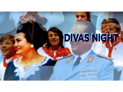 Cabaret Duo Party Event Cover visual identity poster photoshop photo edit lady k human woman event branding event duo drag queen drag divas night dekadenca cover cabaret arts artist adobe photoshop