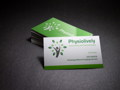 Physiology business card design morden clean typo logo branding designer graphic design graphics graphic user interface user experience promote business tranding latest design ui ux businesscard