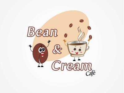 Cafe logo design option 1 logo ui ux tranding design
