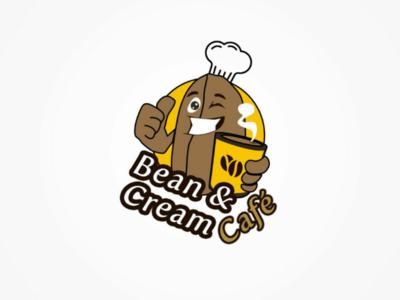 Cafe logo design option 2 logo ui ux design trending