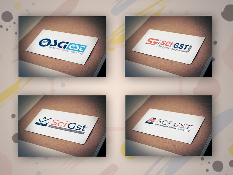 sci gst logo trending logodesign typographic typogaphy flatdesign design art logotype logo design logo