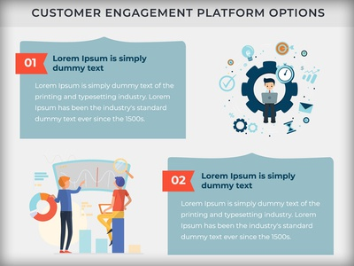 Customer Engagement Platform Infographic