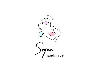 Saya Handmade Accessories Logo accessory logo minimal brand identity logodesign branding logo design logo