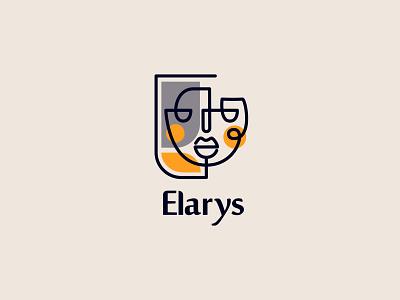 Elarys Decorative Frames Logo design minimal logo design brand identity logodesign logo branding