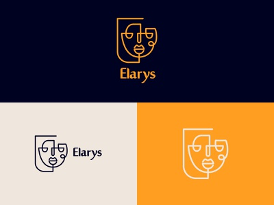 Elarys Decorative Frames Logo vector minimal logo design logodesign branding logo