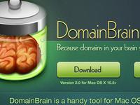 DomainBrain Site Redesign
