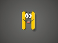 Letter H for Happiness Design