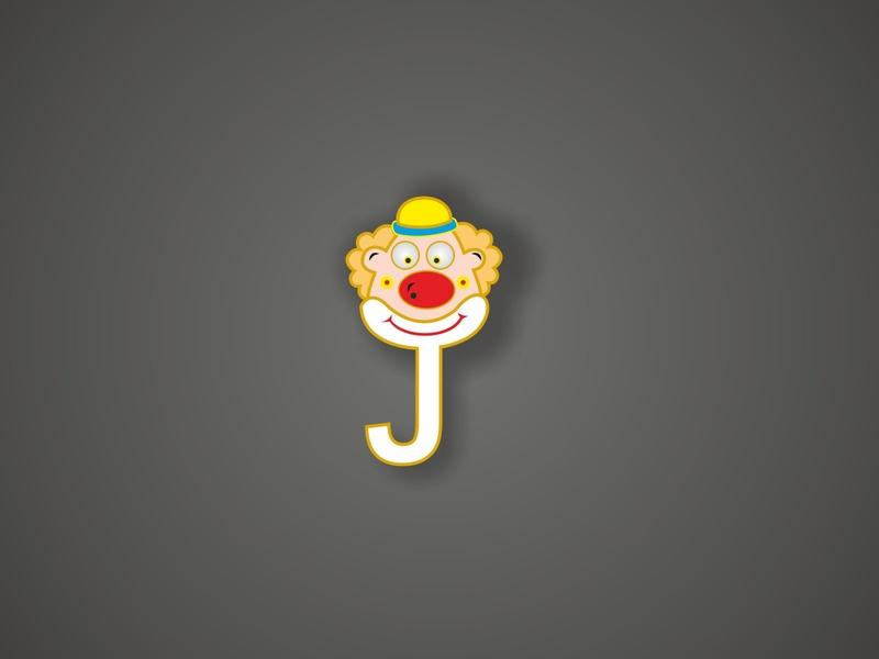 Letter Design J for Joker