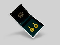 Golden Earrnings Design