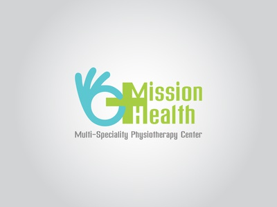 Mission Health logo design for hospitality industry
