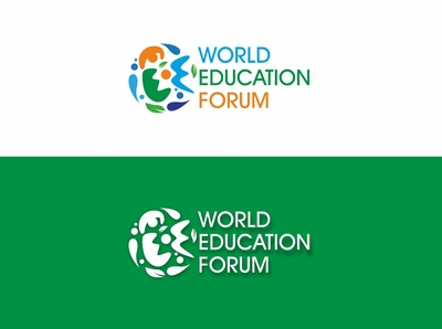 World Education Forum (WEF) logo design