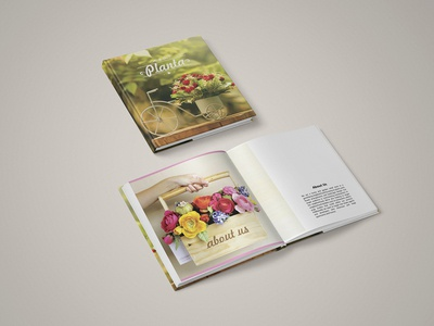 Square catalogue Design