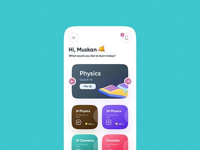Educational App UIUX Design by Arpit Brandings education app ui educational app user interface design physics wallah ui design app ui ui  ux uidesign uiux ui