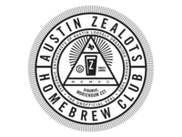 The Official Unofficial Seal of the Austin Zealots