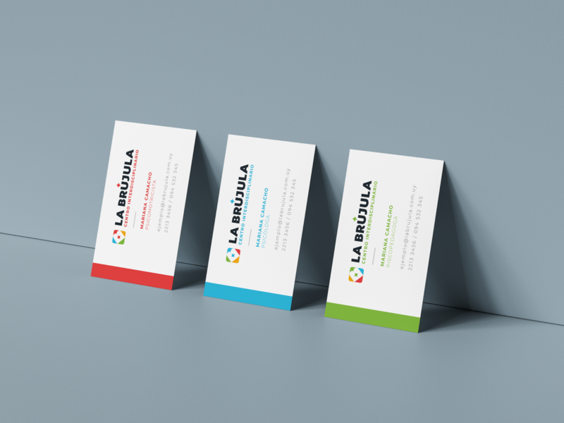 La Brújula - Business Cards centro pymes stationary tarjeteria business logo diseño business card design branding business cards
