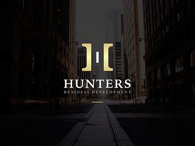 Hunters - Trademark Design symbol vector hunters marketing business premium dark branding trademarks logotype logo design trademark logo