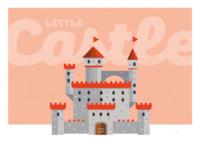Little castle - fast illustration