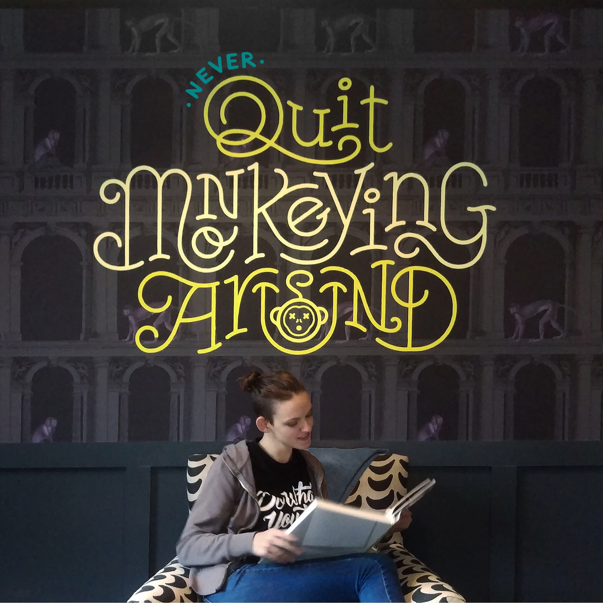 Quitmonkeying installation