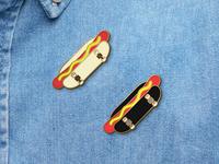Skate Dog Pins