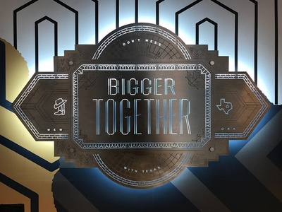 Bigger Together Badge Installation