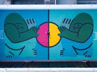 Futbol Court Mural