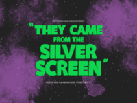They Came From The Silver Screen Cover Art