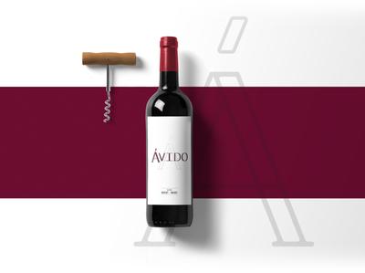 Ávido - Wine Label