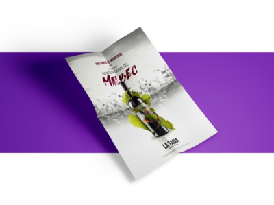 La Tana Wine - Advertising
