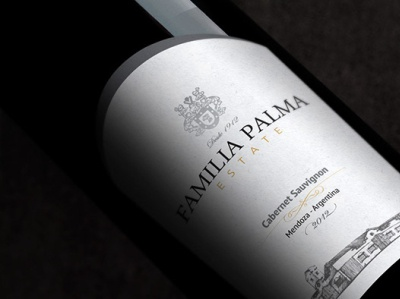 Brand and Label Design - Familia Palma Estate