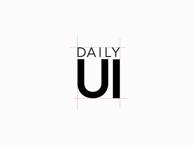 Daily UI // Day 052 // Logo dailyui icon logo ux web branding design vector