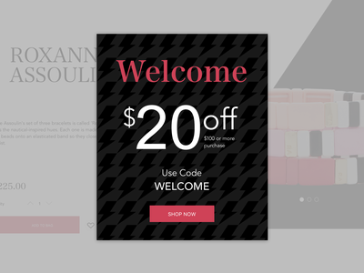 Daily UI // Day 061 // Redeem Coupon dailyui web ux branding typography ui minimal design vector
