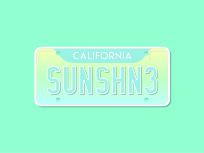 Weekly Warm-Up #6: California Cruisin'